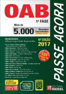 Passe Agora - Questões Comentadas OAB 1 FASE 19ED.