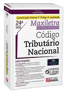 Código Tributario Nacional - Maxiletra - Constituição Federal + Código + Legislação