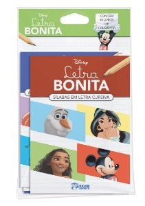 Disney Solapa Média Caligrafia - LETRA BONITA