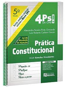 4PS da OAB 2Fase - PRATICA CONSTITUCIONAL 5ED.