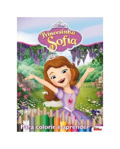 Disney Kit 5 em 1 com DVD  - PRINCESINHA SOFIA