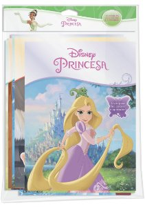 Disney Solapa Jumbo Colorir - PRINCESAS