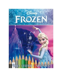 Disney Kit 5 em 1 com DVD - FROZEN