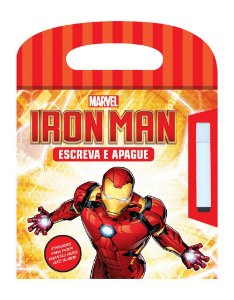 Marvel Escreva e Apague  - IRON MAN
