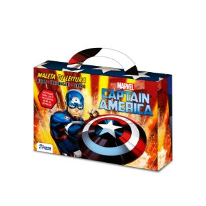 Marvel Maletinha Divertida -  CAPTAIN AMERICA