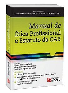 Manual de Ética Profissional e Estatuto da OAB 1ED