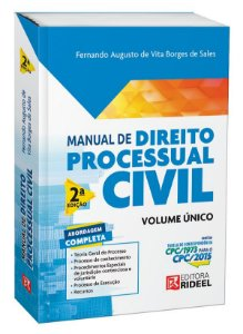 Manual de Direito Processual Civil 2ED.