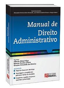 MANUAL DE DIREITO ADMINISTRATIVO 1ED.