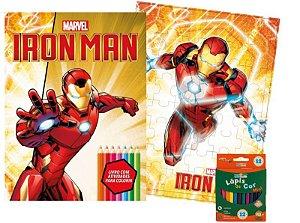 Marvel Kit Diversao - IRONMAN