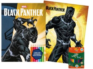 Marvel Kit Diversao - BLACK PANTHER