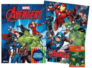 Marvel Kit Diversao - AVENGERS