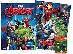 Marvel Kit Diversao - AVENGERS