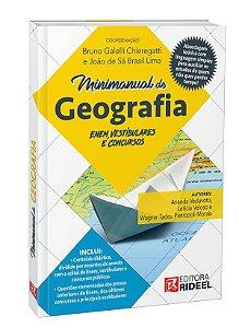 Minimanual de Geografia - Enem, vestibulares e concursos - 1ª edição