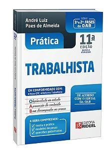 Prática Trabalhista - 1ª e 2ª fases da OAB - André Paes - 11ª edição