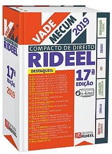 Vade Mecum Compacto de Direito Rideel - 17ª edição