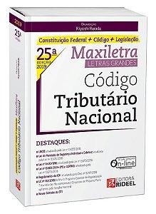 Código Tributário Nacional – MAXILETRA – Constituição Federal + Código + Legislação - 25ª edição