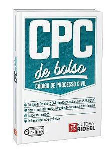 Código de Processo Civil - CPC de bolso - 1ª edição