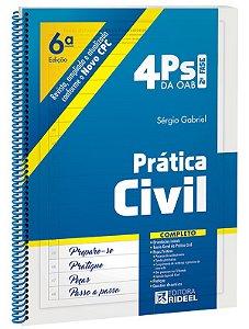 4Ps da OAB – Prática Civil - 6ª edição