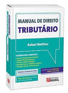 Manual de Direito Tributário - 1ª edição