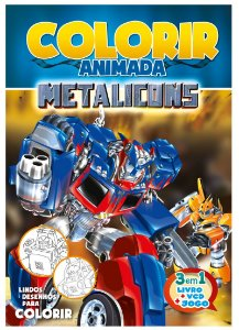 Colorir Animada - METALICONS