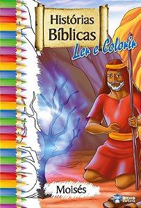 Histórias Bíblicas para ler e colorir  – MOISÉS
