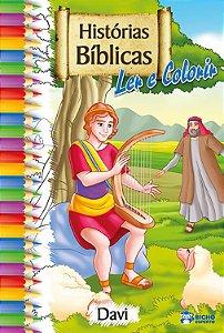 Histórias Bíblicas para ler e colorir – DAVI