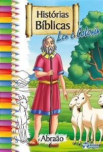 Histórias Bíblicas para ler e colorir – ABRAÃO