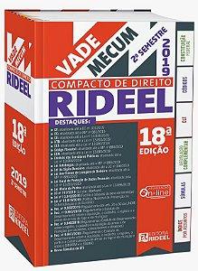 Vade Mecum Compacto de Direito - 18ª edição – 2º SEMESTRE 2019