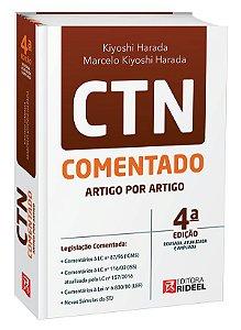 CTN - Comentado Artigo por Artigo - 4ª edição