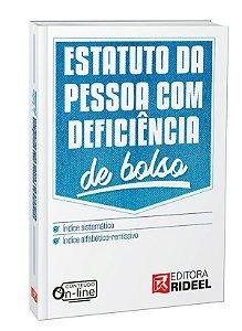 Estatuto da Pessoa com Deficiência - De Bolso - 1ª edição