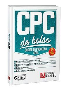 Código de Processo Civil - CPC de Bolso - 2ª edição