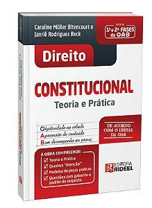 Direito Constitucional - Teoria e Prática - 1ª edição