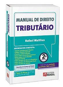 Manual de Direito Tributário - 2ª edição