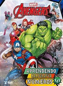 Coleção Aprendendo Caligrafia Marvel - NUMEROS