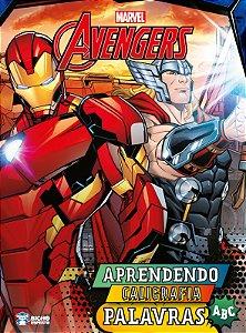 Coleção Aprendendo Caligrafia Marvel - PALAVRAS