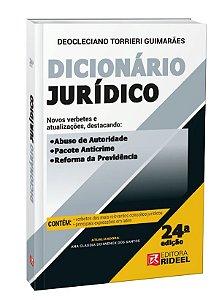 Dicionário Jurídico - 24ª edição