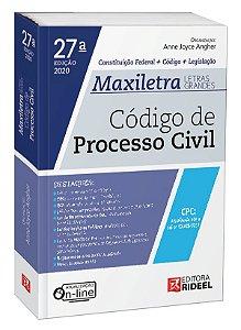 Código de Processo Civil – MAXILETRA – Constituição Federal + Código + Legislação - 27ª edição