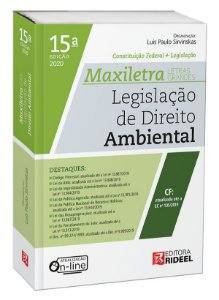Legislação de Direito Ambiental –  MAXILETRA – Constituição Federal + Legislação - 15ª edição