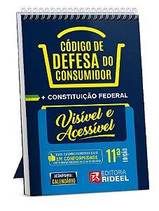 Código de Defesa do Consumidor + Constituição Federal Visível e Acessível - 11ª edição