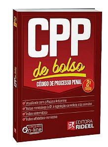Código de Processo Penal -  CPP de bolso - 2ª edição
