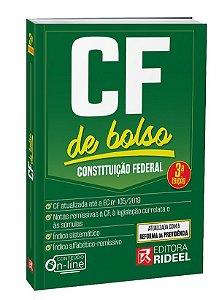 Constituição Federal - CF de bolso - 3ª edição
