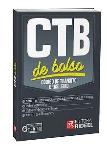 Código de Trânsito Brasileiro - CTB de bolso