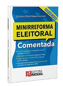 Pré-venda - Minirreforma Eleitoral Comentada Eleições 2020 - 1ED