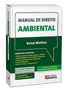 PRÉ-VENDA - Manual de Direito Ambiental - 1ª edição