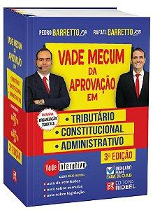 PRÉ-VENDA - Vade Mecum da Aprovação em: Tributário, Constitucional e Administrativo - 3ª edição