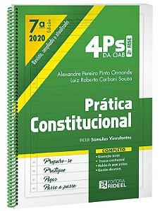 4Ps da OAB – Prática Constitucional - 7ª edição