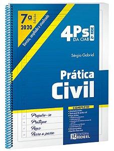4Ps da OAB – Prática Civil - 7ª edição