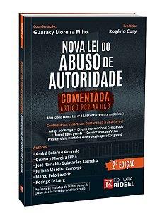 Nova Lei do Abuso de Autoridade Comentada Artigo por Artigo - 2ª edição