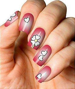 Películas de Unhas – Flores – D69
