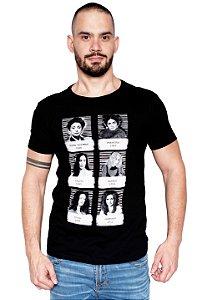 Camiseta - Vilãs Novelas